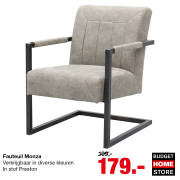 Budget Home Store - TopDeal: fauteuil Monza
