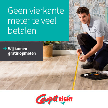 Carpetright - Gratis opmeetservice