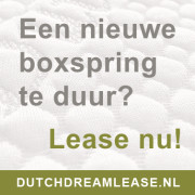 Dutch Dream Slaapcomfort - Dutch Dream Lease geeft een Jersey topper hoeslaken KADO