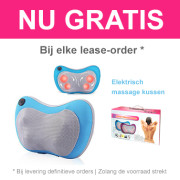 Dutch Dream Slaapcomfort - Gratis massagekussen!