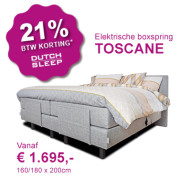 Dutch Dream Slaapcomfort - Summer Sale op boxspring CREATION