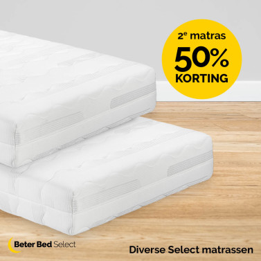 Beter Bed - 2e Beter Bed Select matras 50% korting