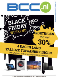 BCC - Black Friday leaflet